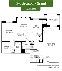 Two Bedroom - Grand